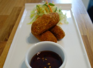 Duck croquettes