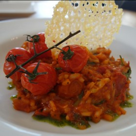 tomato and fennel risotto